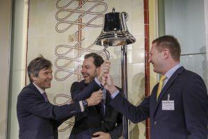 Gli ETF di J.P. Morgan AM suonano la campana della Borsa Italiana