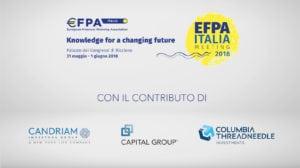 Efpa Italia 18: sostenibilità, centralità dei clienti e nuove tecnologie