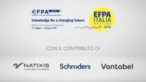 Millennials, flessibilità e gestione attiva in primo piano ad Efpa Italia 18