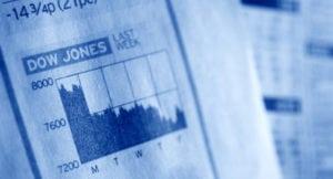 Indice Dow Jones, quasi conclusa la fase di correzione dopo 6 mesi