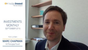 3 minutes with Marc Chapman – settembre 2018