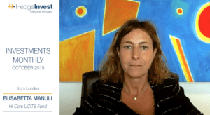 3 minutes with Elisabetta Manuli - ottobre 2018