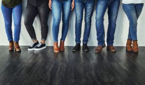 Wall Street in blue jeans per il ritorno di Levi's
