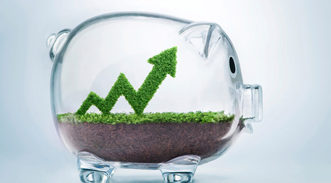 Gli investimenti sostenibili superano quota 30mila miliardi di dollari