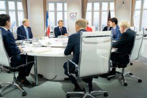 Un G7 unito dalla volontà di non farsi del male