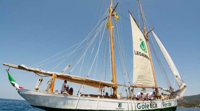 Pramerica Sgr con Goletta Verde per la salute del mare