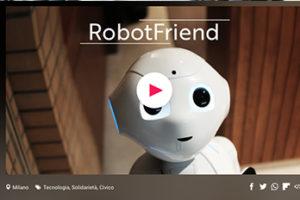 Il robot amico dei bimbi diversamente abili in crowdfunding su Eppela