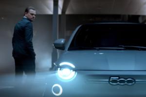 Leonardo DiCaprio testimonial della nuova Fiat 500 elettrica