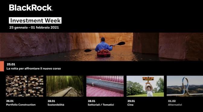 financialounge.com Al via la BlackRock Investment Week