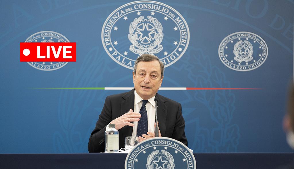 Live Piano Anti Covid Draghi In Diretta News Financialounge Com